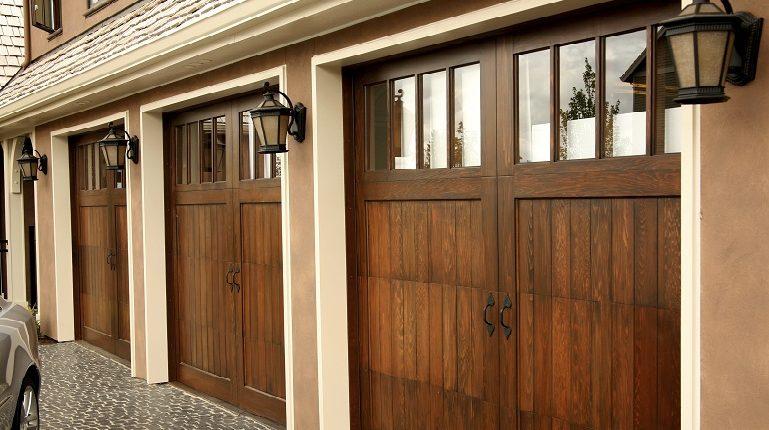 Steel V Wood Garage Doors Garage Door Center